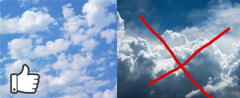 выбираем небо для фотопечати на потолке