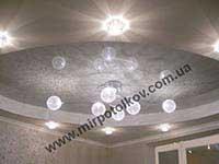 круглый натяжной потолок