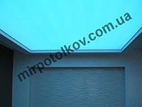 натяжной потолок со скрытой подсветкой
