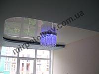 натяжной потолок в гипсокартоне