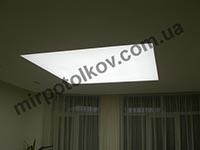светодиодная подсветка потолка в гостиной