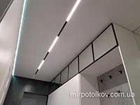 трек встроенный в подвесной потолок